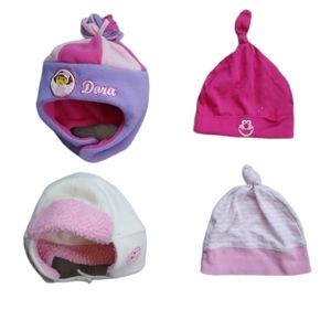 💗Lot of 4 Toques for Autumn/Winter, 18-24m